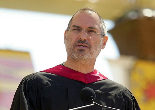 Steve jobs with honorary degres